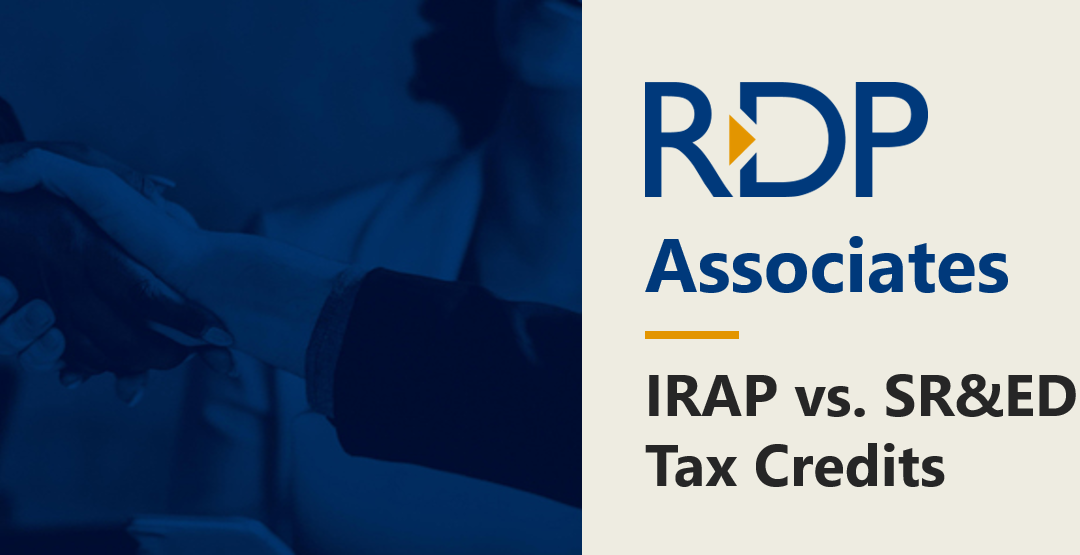 IRAP vs. SR&ED: What Are the Differences?